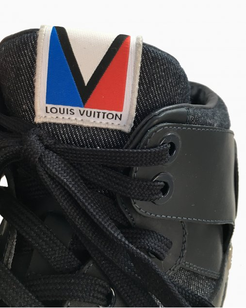 Tênis Louis Vuitton Azul Marinho