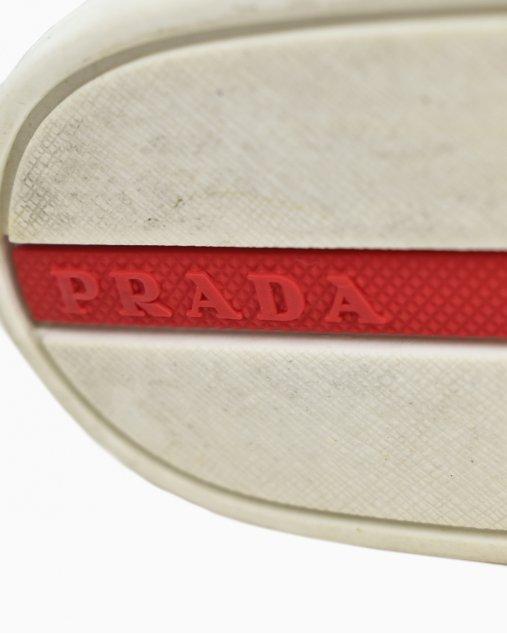 Tênis Prada Slip OnBranco
