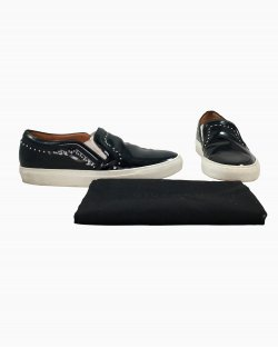 Tênis Slip On Givenchy Verniz Preto