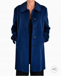 Trench Coat Burberry Azul