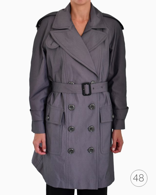 Trench Coat Burberry Roxo