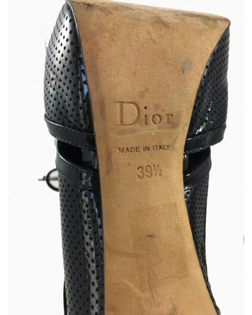 Unkle Boot Dior verniz preta