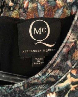 Vestido Alexander McQueen Estampado