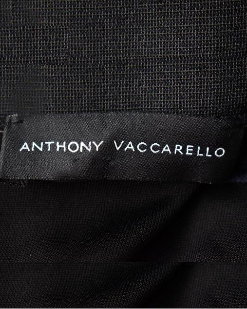 Vestido Anthony Vaccarello Azul Marinho