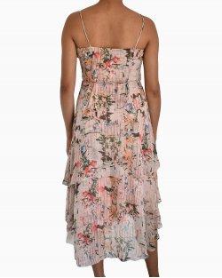 Vestido BCBG Max Azria Seda Floral