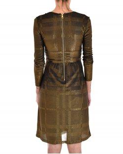 Vestido Burberry Dourado