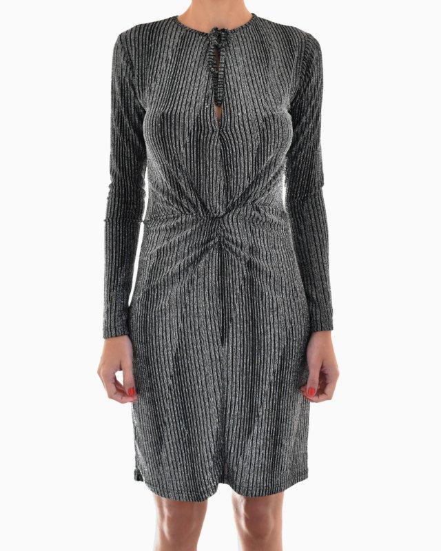 Vestido Carol Bassi Lurex