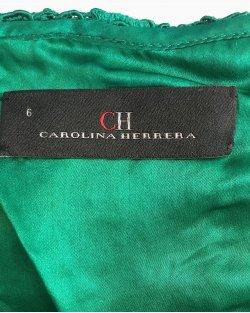 Vestido Carolina Herrera Verde