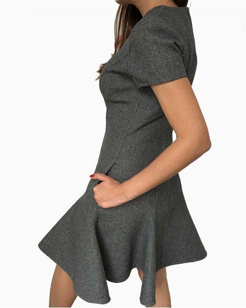 Vestido Dior Cinza