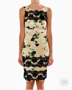 Vestido Dolce & Gabbana Florido