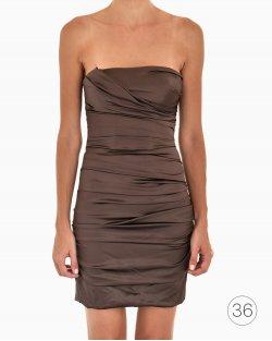 Vestido Dolce & Gabbana Marrom