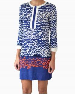 Vestido DVF Achelle Azul
