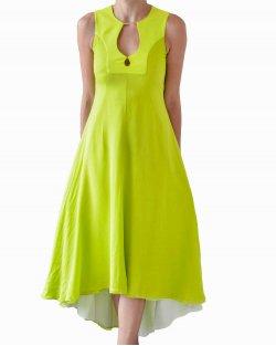 Vestido DVF Starr Dress Verde