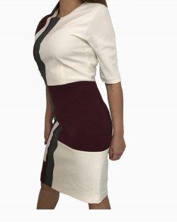 Vestido Fendi Burgundy