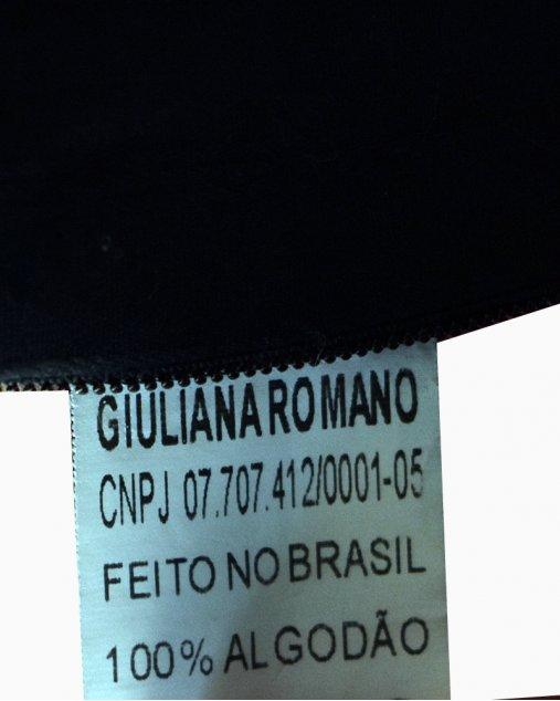 Vestido Giuliana Romanno Mangas Longas Preto