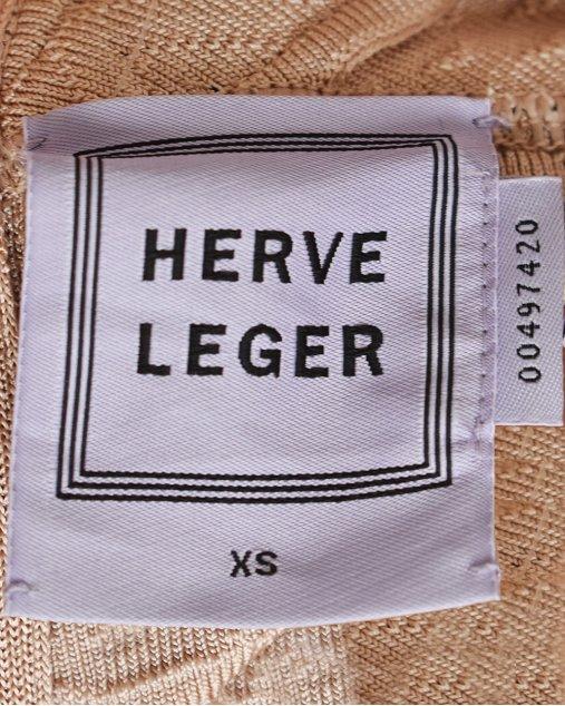Vestido Herve Leger Bicolor