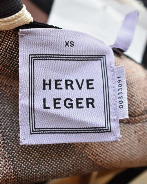 Vestido Herve Leger Tricolor