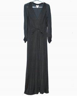 Vestido Longo Issa Preto