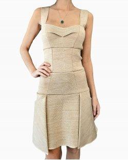 Vestido Lolitta Bege