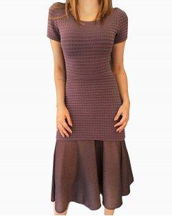 Vestido Lolitta Midi Uva