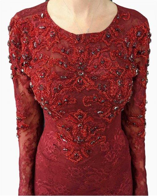 Vestido Longo Patricia Bonaldi Vermelho