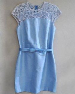 Vestido Martha Medeiros Azul