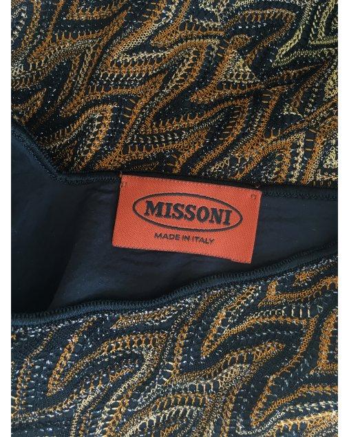 Vestido Missoni Marrom