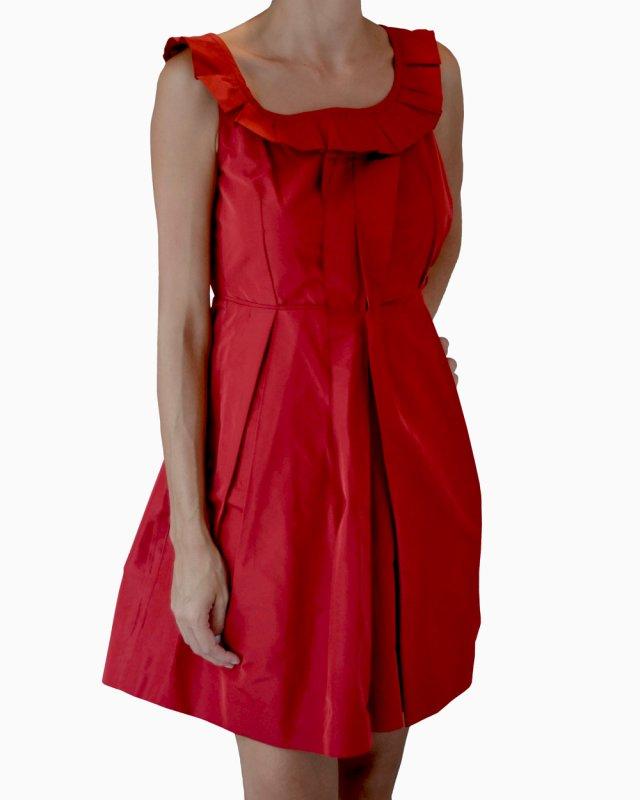 Vestido Miu Miu vermelho