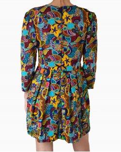Vestido PatBo Bordados Étnicos