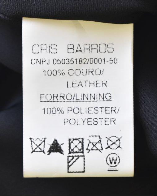 Vestido Preto Cris Barros