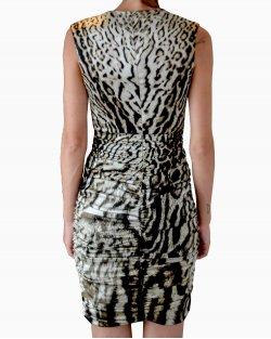 Vestido Roberto Cavalli Animal Print