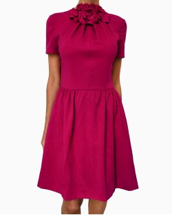 Vestido Valentino Techoculture Pink