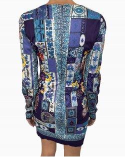 Vestido Versace manga longa