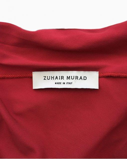Vestido Longo Zuhair Murad Vermelho